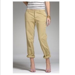 J. Crew Broken-in Scout Chino Crop 8 City Fit